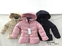 Куртки зимние на девочек оптом, Nature, 12-36 рр
