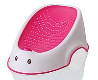 Горка для купания Утенок Babyhood розовая (BH-208P)