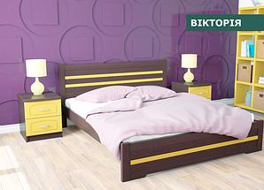"""Кровать """"Виктория"""" из натурального дерева (сосна, ольха)"""
