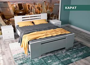 """Кровать """"Карат"""" из натурального дерева (сосна, ольха)"""
