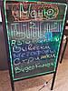 Рекламная светящаяся LED доска, Светодиодная Доска/Панель,Неоновая доска маркерная 50х70, фото 4