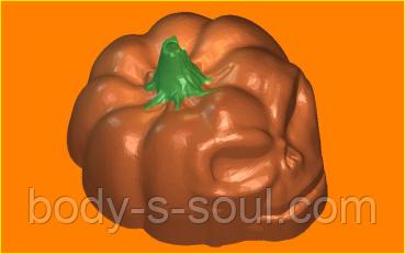 Пластиковая форма 357 - Тыква-череп