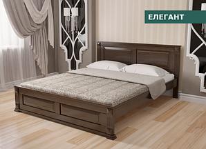"""Кровать """"Елегант"""" из натурального дерева (сосна, ольха)"""