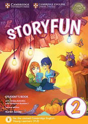 Storyfun for Starters 2nd Edition 2 Student's Book with Online Activities and Home Fun Booklet