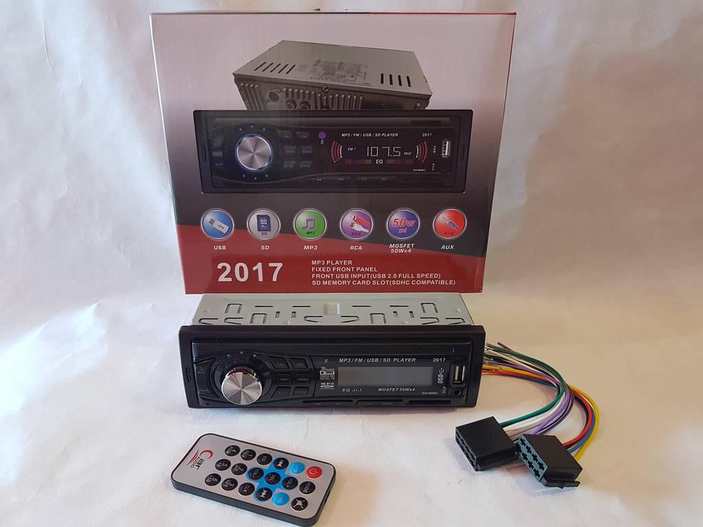 Автомагнитола Pioneer 2017 - MP3+FM+USB+SD+AUX!