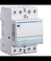 Контактор стандартный 63А, 4НЗ, 230В, 3М (Hager)