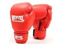 Боксёрские перчатки Reyvel Винил 8 унций Красные
