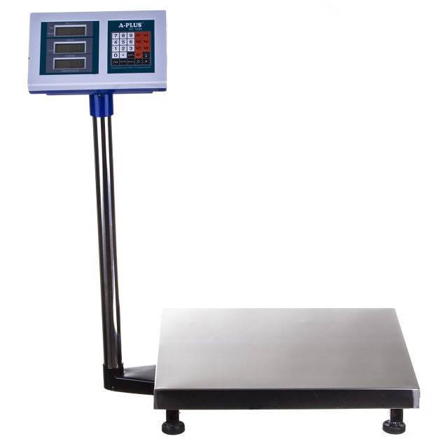 Торговые электронные весы до 300 кг со стойкой А-Плюс SC-1658