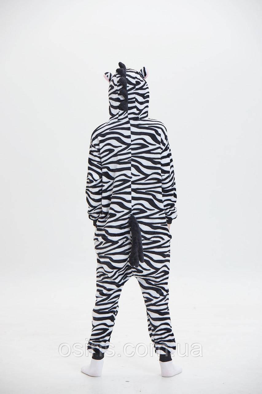 Пижама Кигуруми детское Зебра (на рост 110-120 см)  продажа ccb1fc11679d6