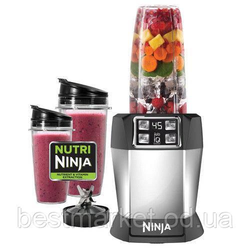 Мощный Кухонный Комбайн Nutri Ninja Auto iQ Умный Блендер