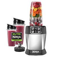 Мощный Кухонный Комбайн Nutri Ninja Auto iQ Умный Блендер, фото 1