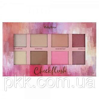 Палетка для макияжа лица Ruby Rose Cheek BlushHB-7507