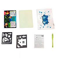 """Набор для рисования детский """"Рисуй светом"""" формат А3"""