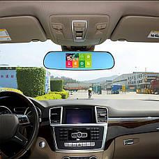 Зеркало видеорегистратор DVR CT600 Android с камерой заднего вида + ПОДАРОК: Настенный Фонарик с регулятором, фото 3