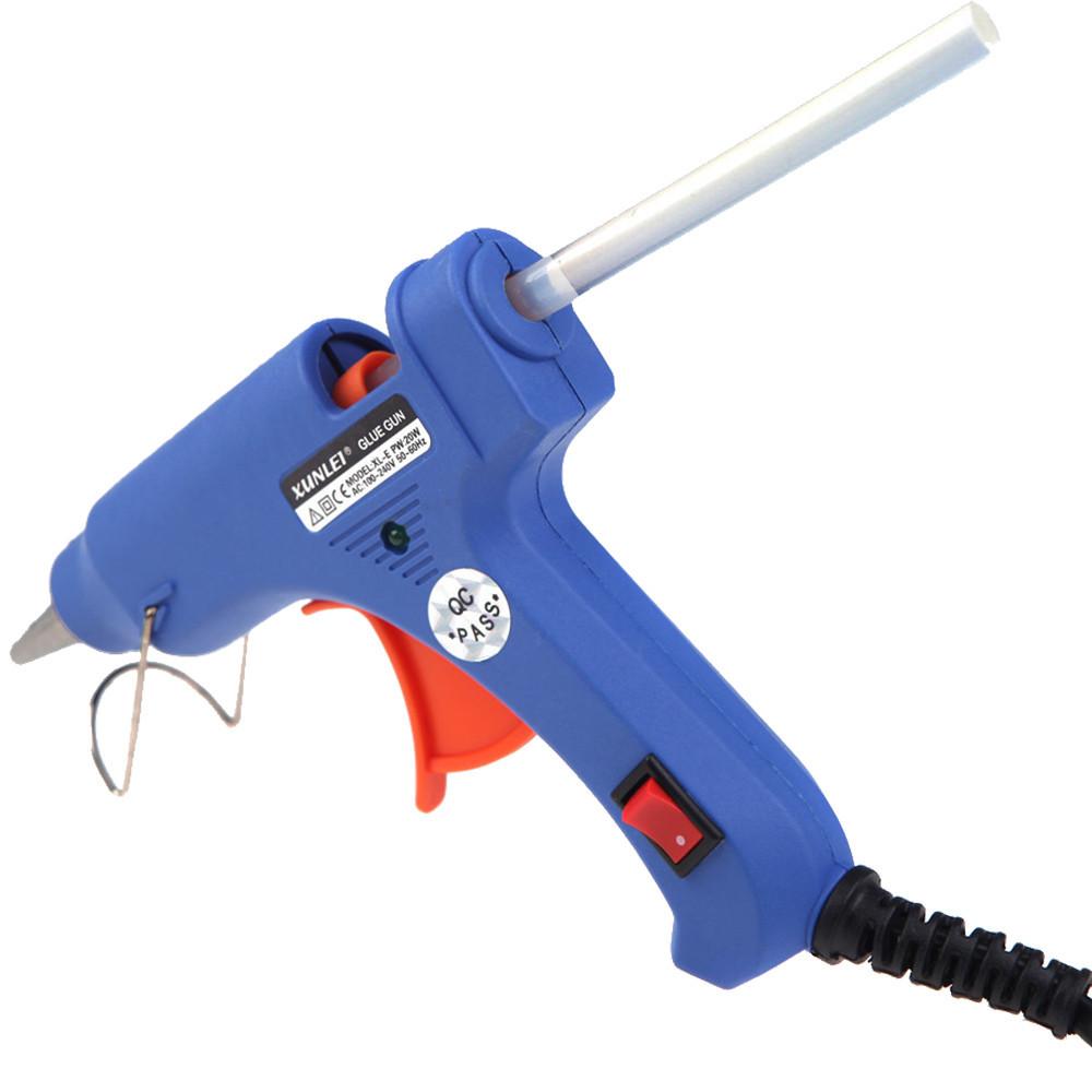 Пистолет для селиконового клея XL-E20 20W - ТОНКИЙ