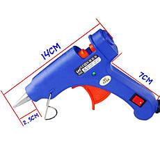 Пистолет для селиконового клея XL-E20 20W - ТОНКИЙ, фото 2