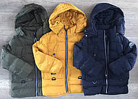 Куртки зимние на мальчика оптом, Nature, 3-8 рр