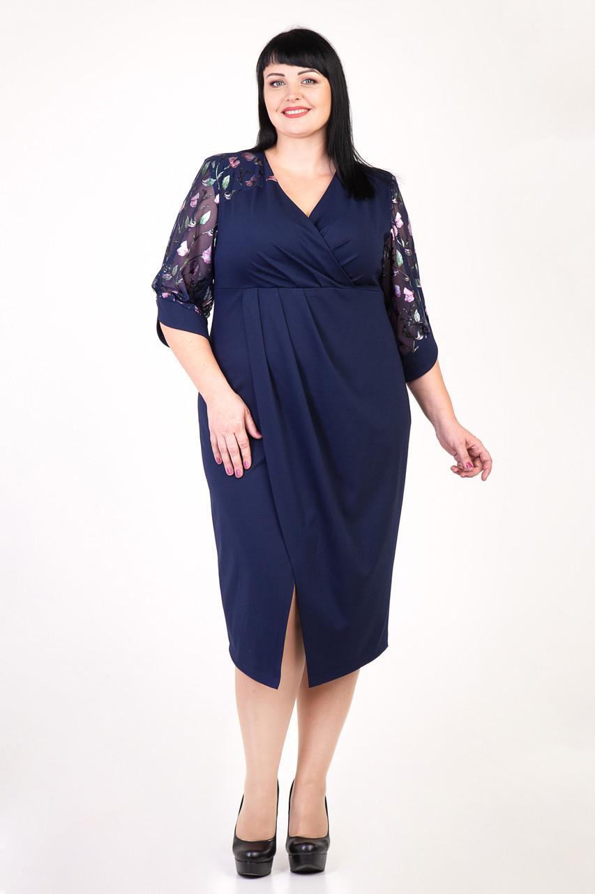 Нарядное платье с 54 по 60 размер  3цвета