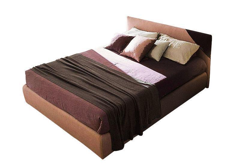 Ліжко з м'якою спинкою з підйомним механізмом Арізона (200 х 200) КІМ