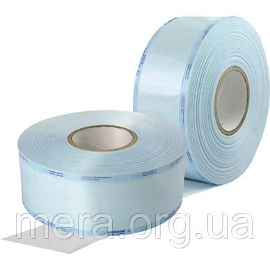 Рулон для стерилизации 250 мм.* 65 мм.* 100 м., со складкой, фото 2