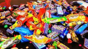 Шоколад, конфеты и другие сладости