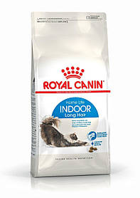 Royal Canin Indoor Long Hair для длинношерстных кошек живущие в помещении, 2 кг