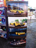 Детский пластиковый комод авто 6
