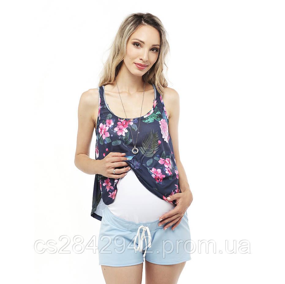 5a211df61b6f6ca Шорти для вагітних ( шорты для беременных) Блакитні: продажа, цена в ...