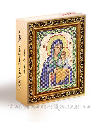 Набор для вышивания бисером икона Богородица Неувядаемый Цвет, фото 2