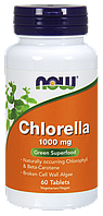 Now Chlorella 1000mg 60 tabs