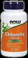 Комплекс Now Chlorella 1000mg 60 таблеток