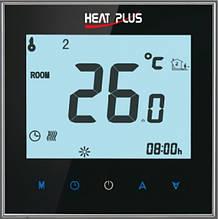 Терморегулятор HEAT PLUS iTeo4 (программируемый сенсорный) 24, Южная Корея, настенный, черный