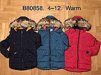 Куртка утепленная для мальчиков оптом, Grace, 4-12 лет,  № B80858, фото 1