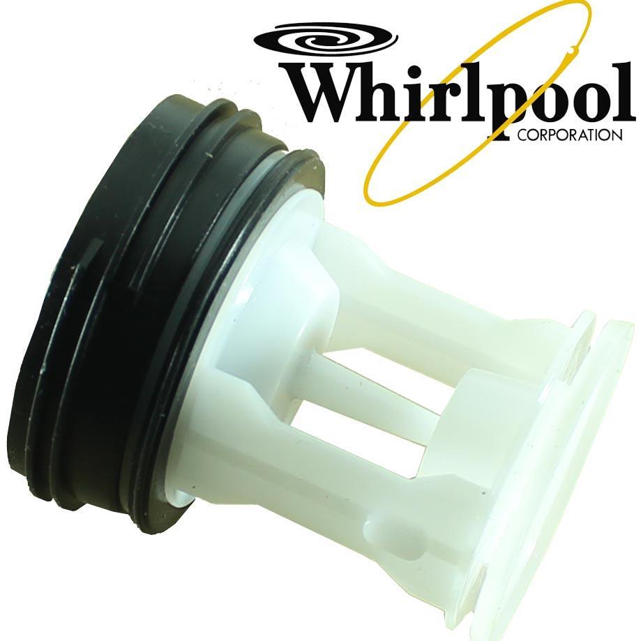 ➜ Крышка фильтра насоса стиральной машины Samsung C DC97-09928C , Whirpool 481248058385