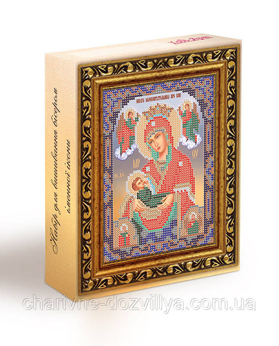 Набор для вышивания бисером икона Богородица Млекопитательница
