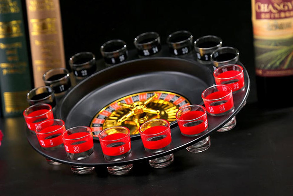 Пьяная рулетка Алко вегас 16 рюмок