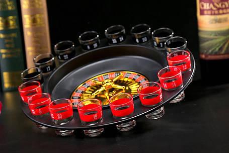 Пьяная рулетка Алко вегас 16 рюмок, фото 2