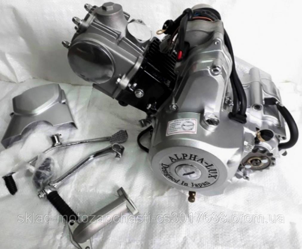 Двигун Альфа / Дельта 110куб механіка d-52.4 мм АЛЬФА люкс