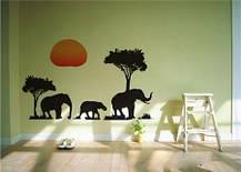 Вінілові наклейки на стіну