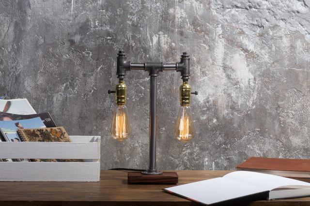 Настольная лампа в стиле лофт T_31