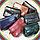 Жіноча чорна сумочка з натуральної шкіри, фото 2