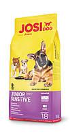 JosiDog Junior Sensitive (25/17) - Сухий корм для чутливих цуценят з 8-тижневого віку