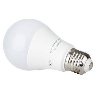 Светодиодная лампа LED 12 Вт, E27, 220 В INTERTOOL LL-0015, фото 2
