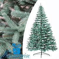 Искусственная голубая литая ель ПРЕЗИДЕНТСКАЯ 230 см, фото 1