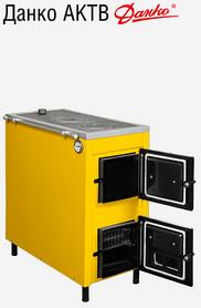 Твердотопливный котел с плитой Данко АКТВ 15-20 кВт