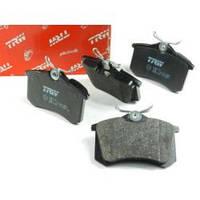 Колодки тормозные TRW для ЗДТ (для задних дисковых тормозов Tornado или Trw-Lucas)