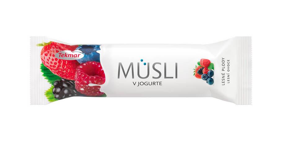 Батончик Мюсли в йогурте-Лесные ягоды, фото 2