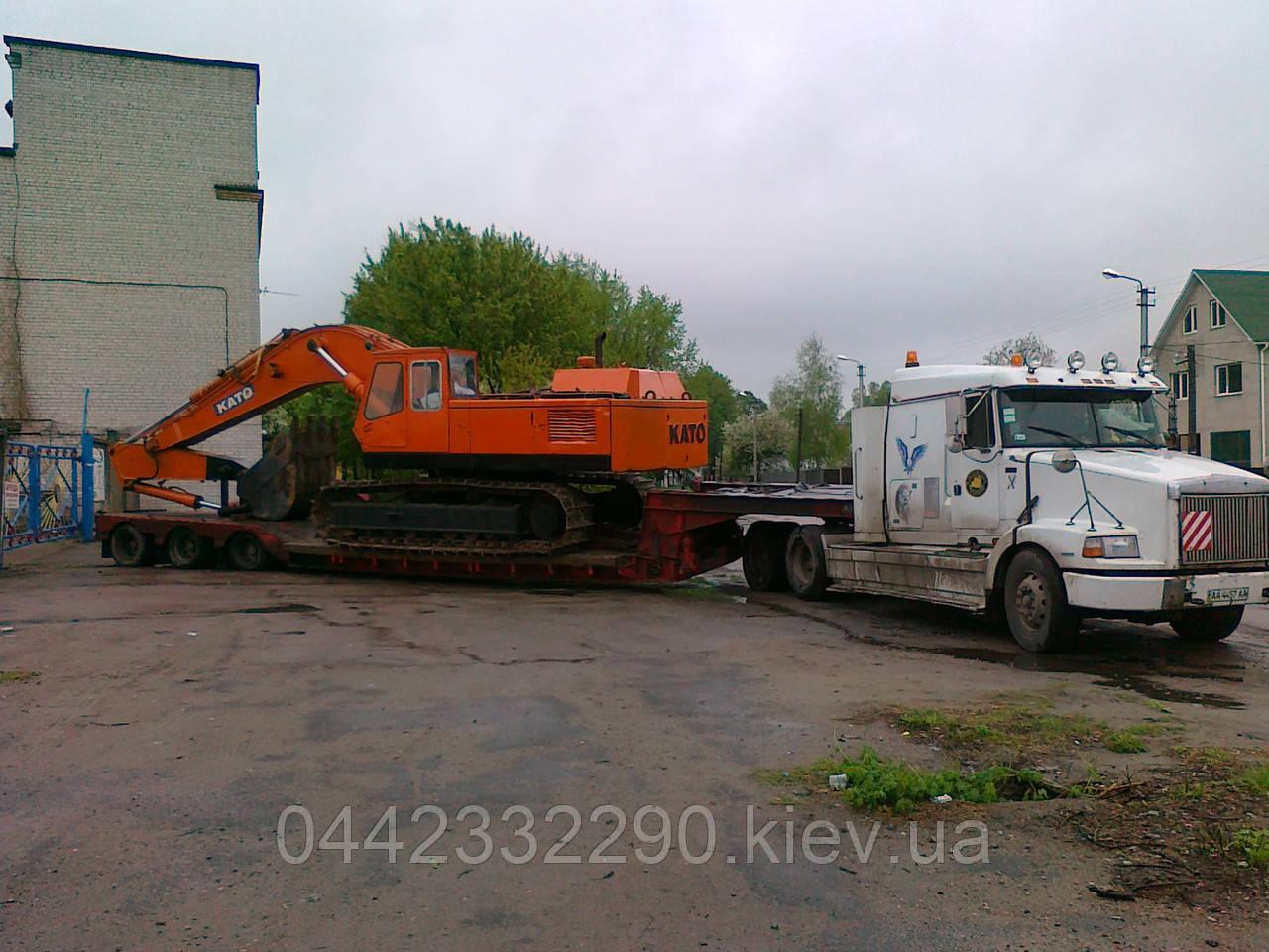 Перевезення негабаритних вантажів Київ - Україна