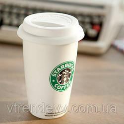 Чашка керамическая Starbucks Старбакс 350 мл