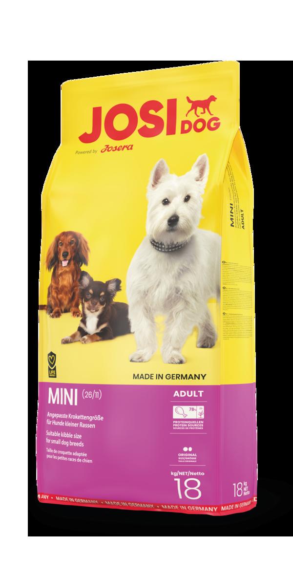 JosiDog Mini (26/11) - сухий корм для дрібних порід собак